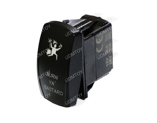 LED Indicator Rocker Switch