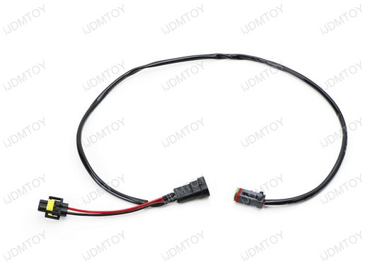 h11 h8 factory fog lamp extension w   dtp connectors for