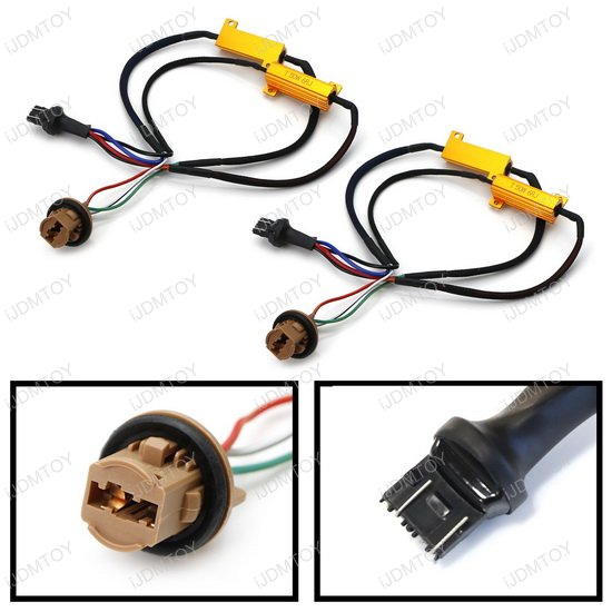 Pre Wired Load Resistor Turn Signal Wire