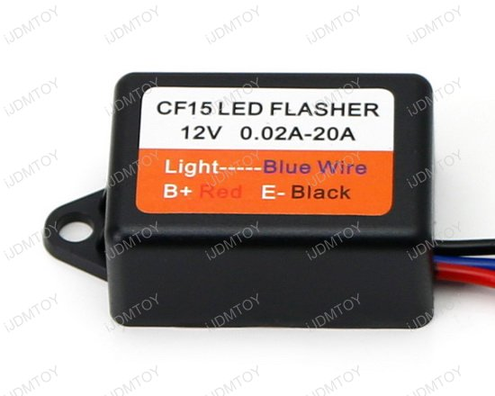 CF15 Universal LED Flasher Fix