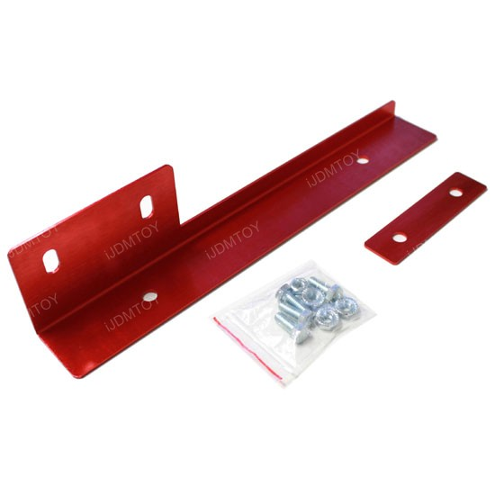 JDM License Plate Relocator