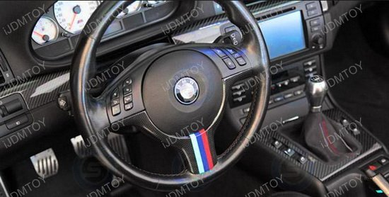 BMW 3 Color Stripe