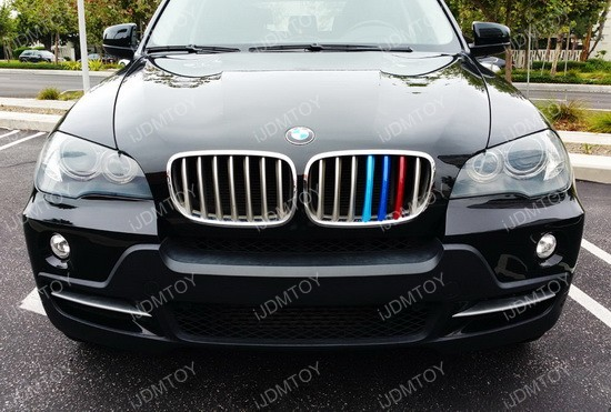 Grille Insert Trims For BMW E X E X Center Kidney Grill - Bmw grille stripe decals