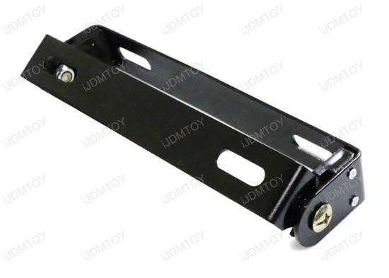 Adjustable Angle Plate : Adjustable license plate mount bracket for motorcycle bike atv