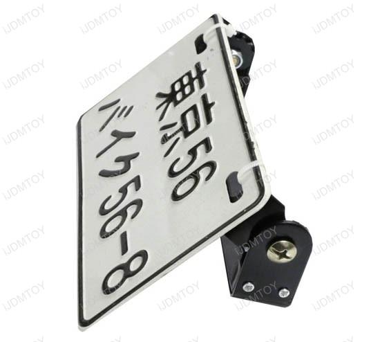 Angle Adjustable License Plate Frame Mount