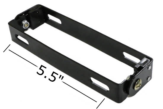 Angle Adjustable License Plate Frame Mount