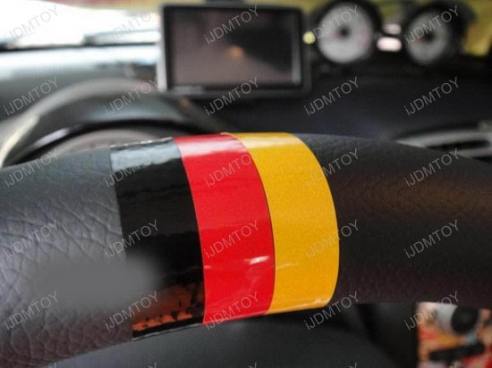 Germany 3 Color Stripe For Car Decorations
