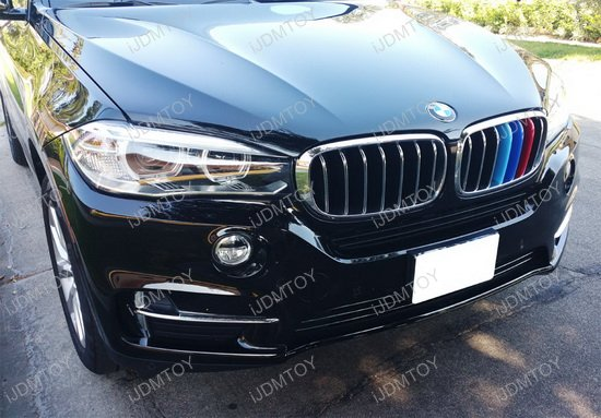 Grille Insert Trims For Bmw F15 X5 F16 X6 Center Kidney Grill