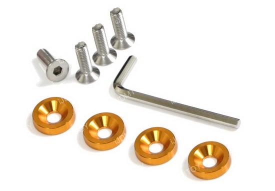 JDM Racing Style Aluminum Washers Bolts