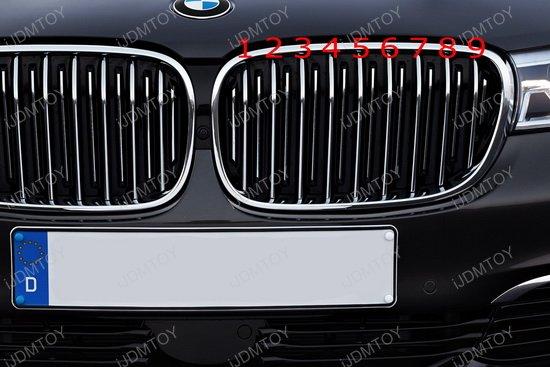 BMW G11 7-Series Grille Insert