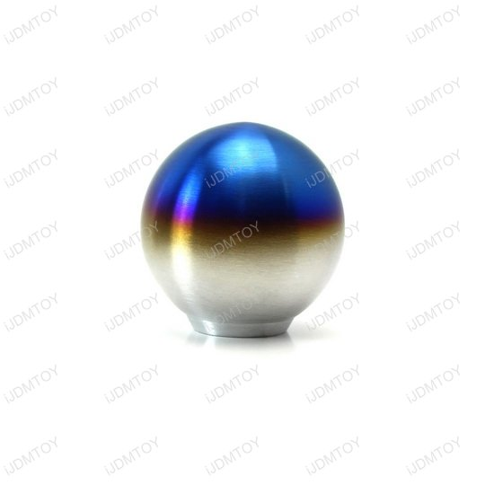 Burnt Titanium Finish Shift Knob