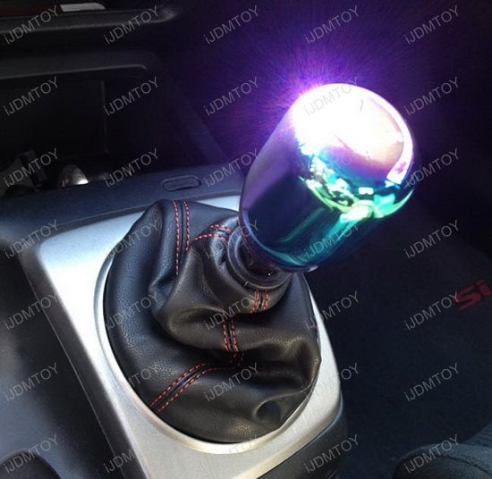 Neo Chrome Shift Knob