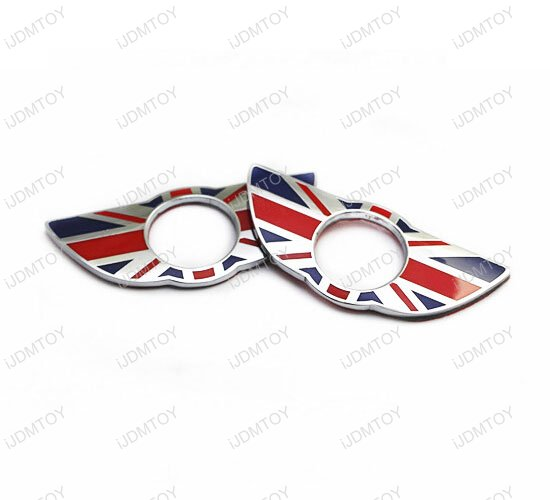 MINI Cooper Union Jack Style Door Lock Deco