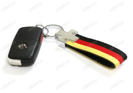 Germany 3-Color Stripe Key Chain