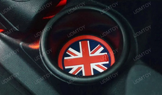 MINI Cooper Union Jack Style Cup Holders