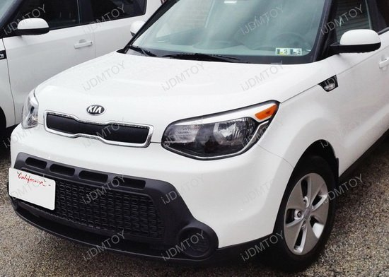 Kia Soul Tow Hook License Plate Mount