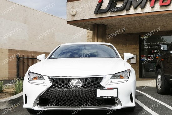Lexus GS RC LS RX License Plate Tow Hole Mounting Bracket
