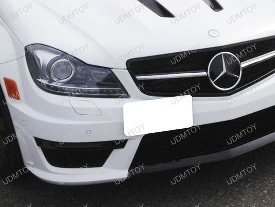 Mercedes Benz License Plate Mounting Bracket