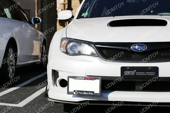 Subaru WRX STi License Plate Mounting Bracket