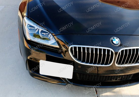 BMW 6-Series Tow Hook License Mount