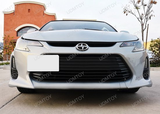 Scion Tc Front License Plate >> No Hole Tow Hook License Plate Mount For 2014-2016 Scion tC