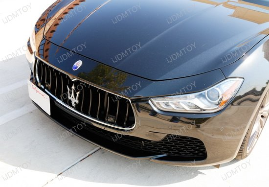 Maserati Tow Hook License Plate Mount
