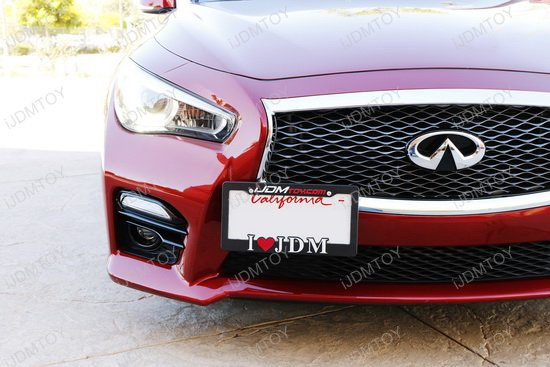 Infiniti Tow Hook License Plate Mount