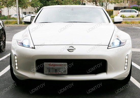 2013-2018 Nissan 370Z Tow Hook License Plate Relocate Bracket