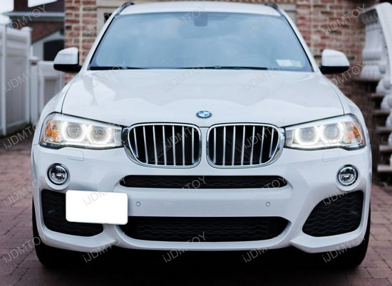 BMW X4 X5 X6 Tow Hook License Plate Mount