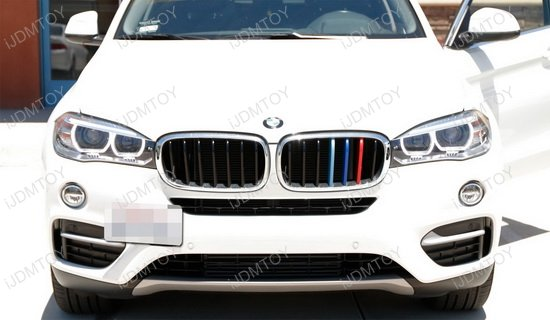 BMW X5 X6 Tow Hook License Plate Mount