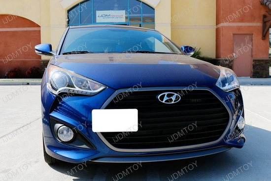 Hyundai Veloster Tow Hook License Plate