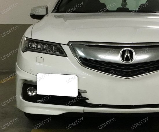 Acura Tow Hook License Plate Mount