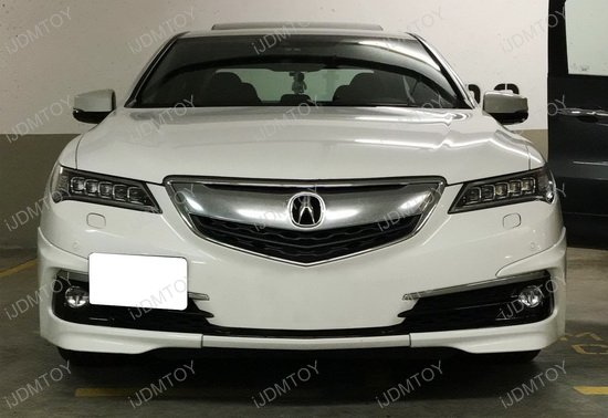 No Hole Tow Hook License Plate Mount For Up Acura TLX - Acura license plate