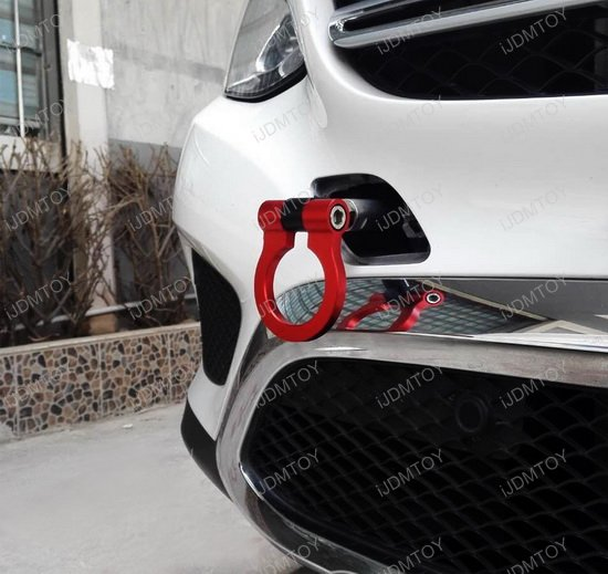 Mercedes Tow Hook Ring