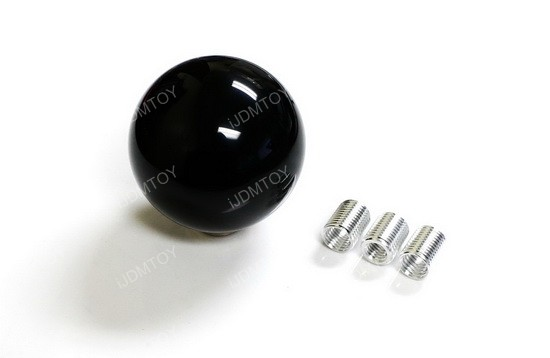 Black Cue Ball Shift Knob