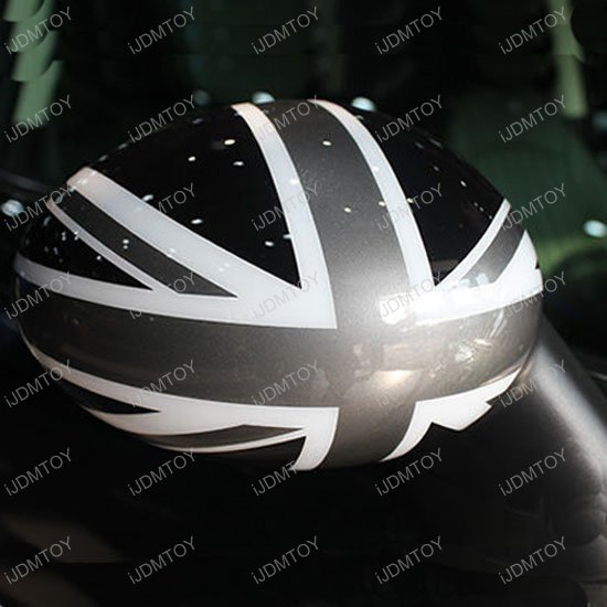 Mini Cooper R55 R56 R57 R60 Union Jack Side Mirror Covers Caps