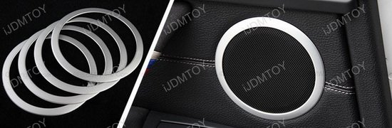 BMW F30 3 Series Speaker Trim Rings