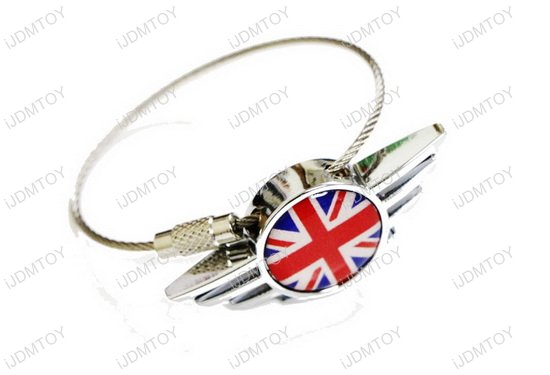 Wing Shape Key Chain For MINI Cooper
