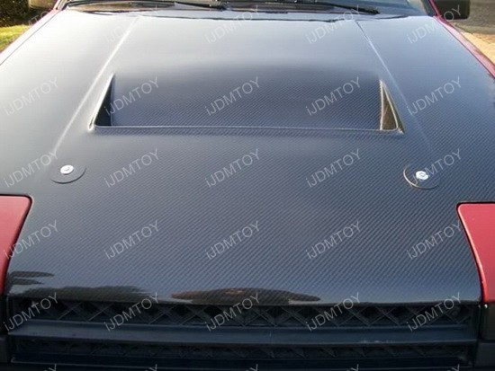 Real Carbon Fiber Hood Pin