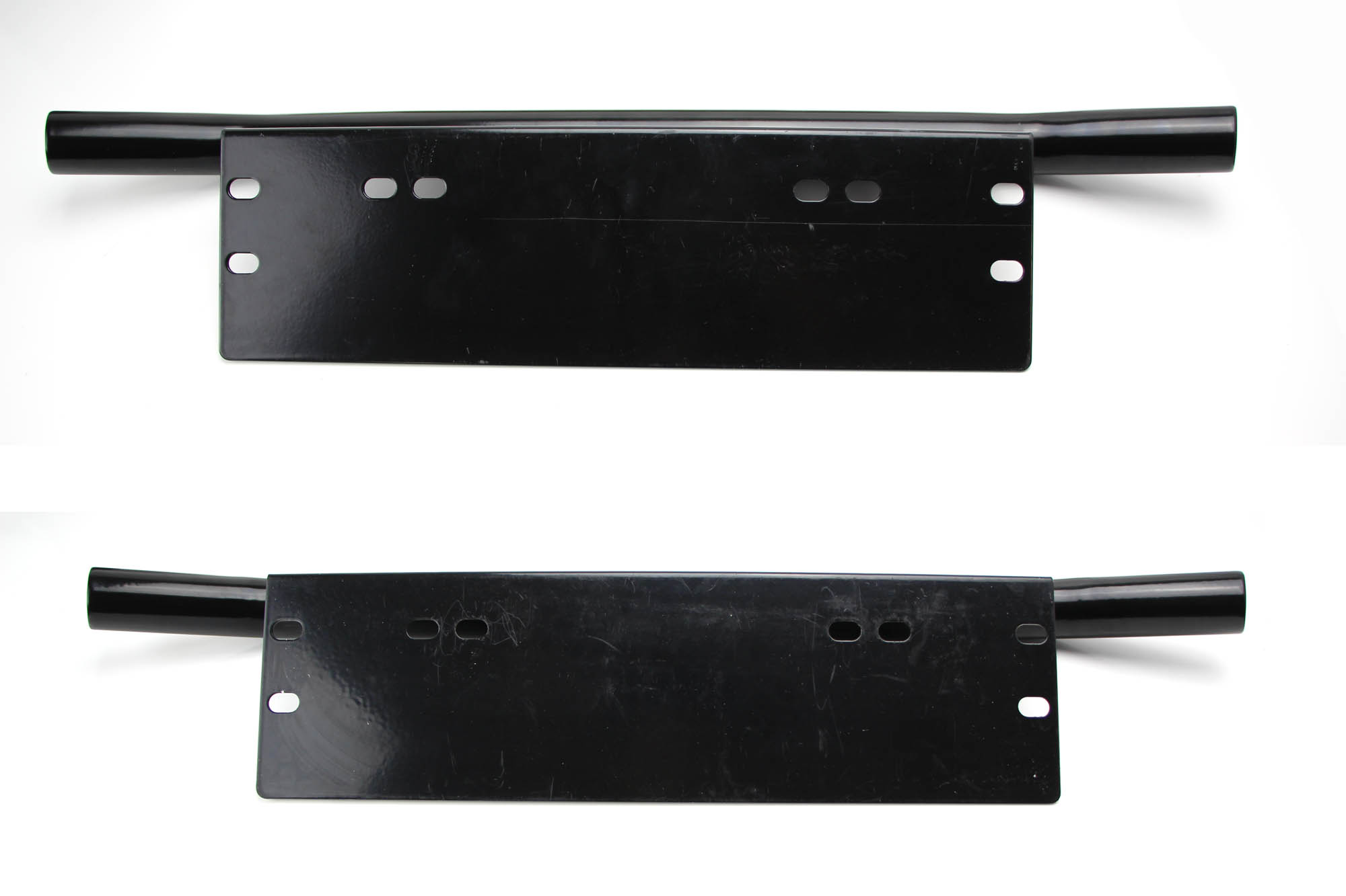 universal fit front bumper license plate mounting bracket