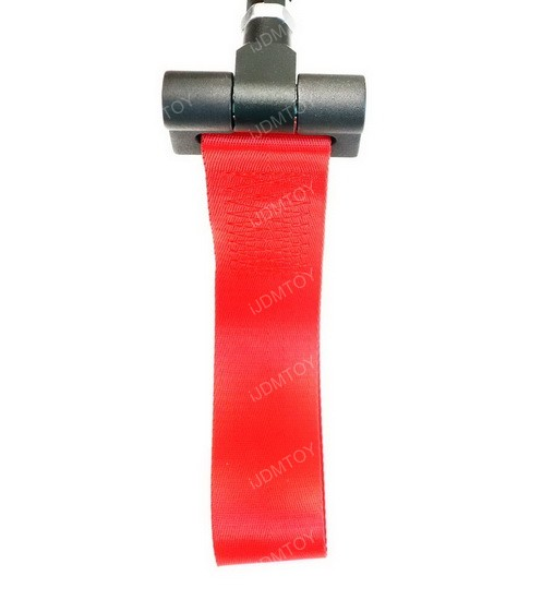 Track Racing Style Nylon Strap Tow Hook