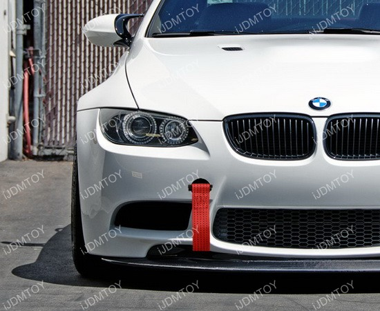 Bmw 1 3 5 6 X5 X6 Mini Tow Hook Racing Style Towing Strap