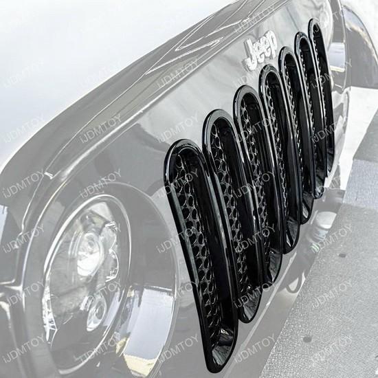 Jeep Wrangler Grille Insert