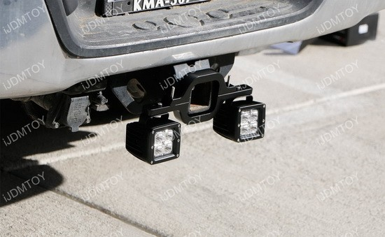Tow hitch mounting bracket for dual led backup search off road lights 3 tow hitch mounting bracket aloadofball Gallery