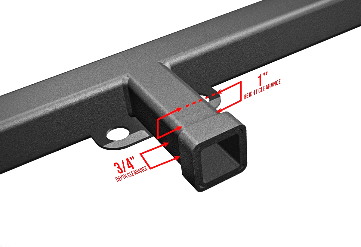 Tow Hitch Mounting Bracket