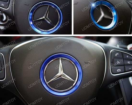 Mercedes W205 C-Class Steering Wheel Trim