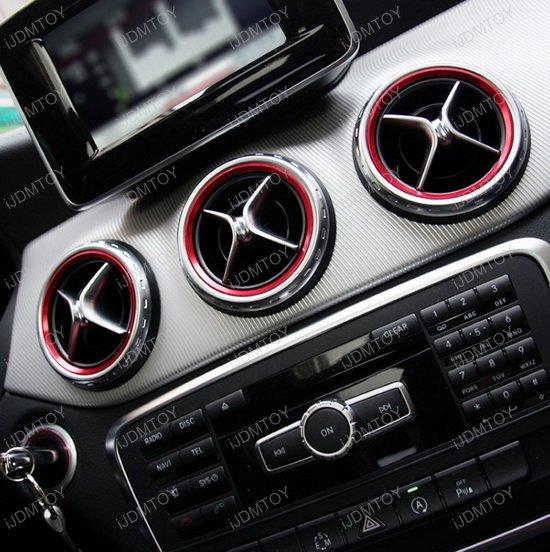 Mercedes GLA GLE AC Trim