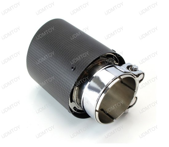 AK Dry Carbon Exhaust Muffler Tip