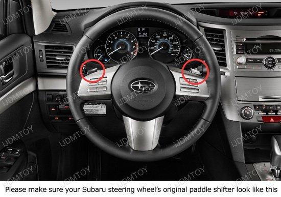 Subaru Paddle Shifter Extension
