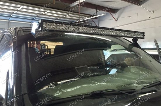 Dodge RAM Roof LED Light Bar Bracket